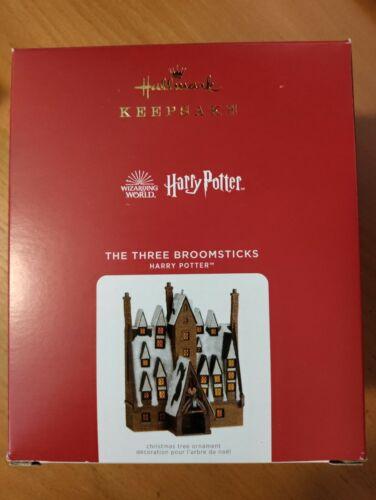 "Hallmark 2021 Ornament THE THREE BROOMSTICKS ""Harry Potter"" NEW..free ship"