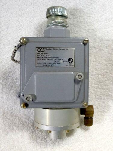 Custom Control Sensor No. 604D1 Differential Switch Proof