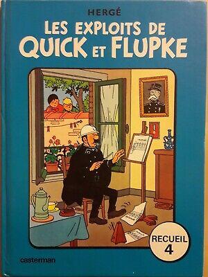 Recueil n° 4 Année 1975 Les exploits de QUICK et FLUPKE