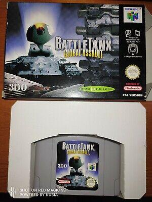BattleTanx Global Assault - N64 - Buen estado - Nintendo 64 PAL ESP / EUR