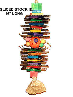 Sliced Stock Ball Parrot pet bird cage toy mini macaw quaker lorie african grey