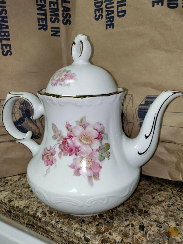 Briar Rose Tea Pot Schumann Arzberg Germany