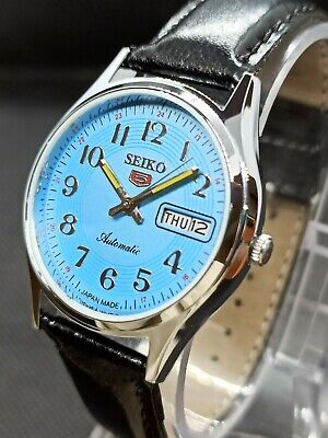 Vintage Seiko 5 Automatic Movement no.6309A Japan Made Men's Watch.