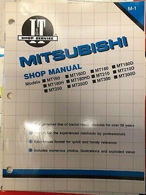 Mitsubishi Shop Manual M-1 1987