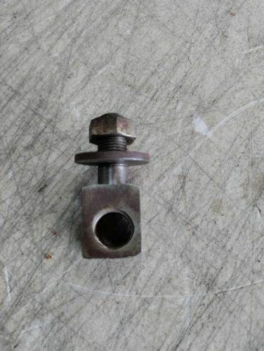 """Vintage Walker Turner 6"""" Jointer Table Adjustment Screw Support Nut & Bolt"""