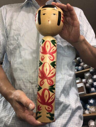 Very Rare Type JUMBO 36.2cm Kano Eiji Kokeshi JAPAN No.KN91