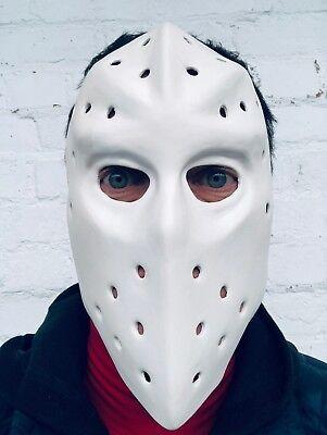 Weiß Hockey Maske Hitze Bank Räuber Heist Vs Jason Kapuze Halloween Kostüm