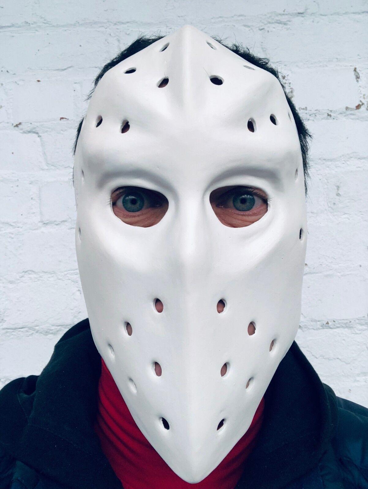 Weiß Hockey Maske Jason Hitze Ufer Räuber Heist Halloween Kostüm Masken Friday