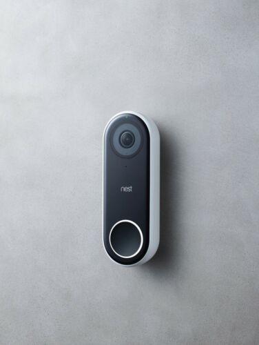 Google - Nest Hello Smart Wi-Fi Video Doorbell