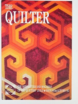 The Quilter Magazine Issue 64 Autumn 1995 Vintage Quilters Guild
