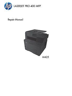 HP LaserJet M425 Pro 400 - Service Manual/Parts & Diagrams PDF