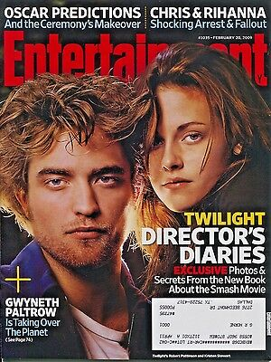 Robert Pattinson Kristen Stewart Entertainment Weekly Magazine February 20  2009