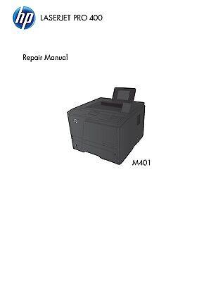 HP LaserJet M401 Pro 400 - Service Manual PDF