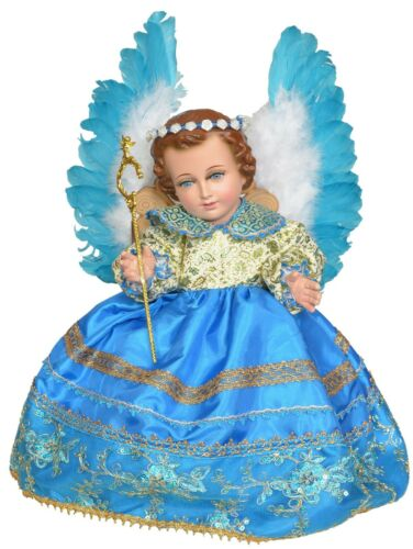 Arcangel Chamuel. Traje de Niño Dios. Bebé Jesús Outfit
