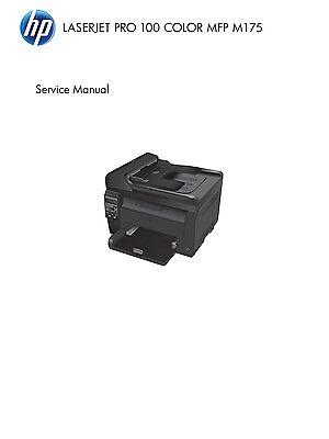 HP Color LaserJet Pro 200 MFP M276 - Service Manual PDF