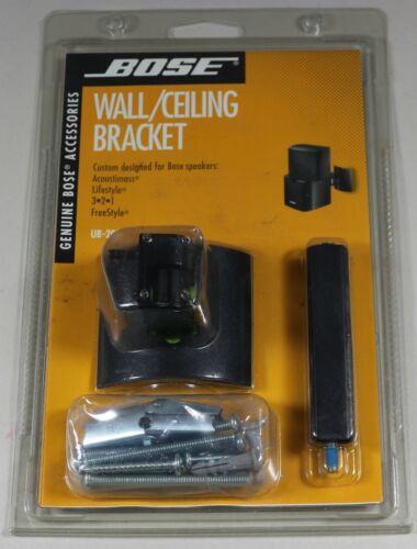 Genuine Bose UB-20B Wall / Ceiling Bracket Speaker Mount Black New Sealed