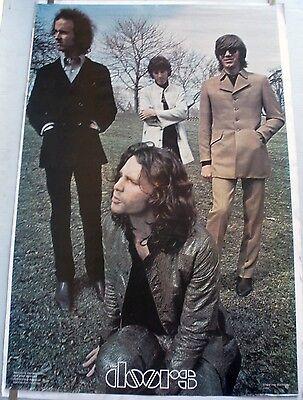 RARE THE DOORS 1978 VINTAGE ORIGINAL HEAD SHOP MUSIC POSTER