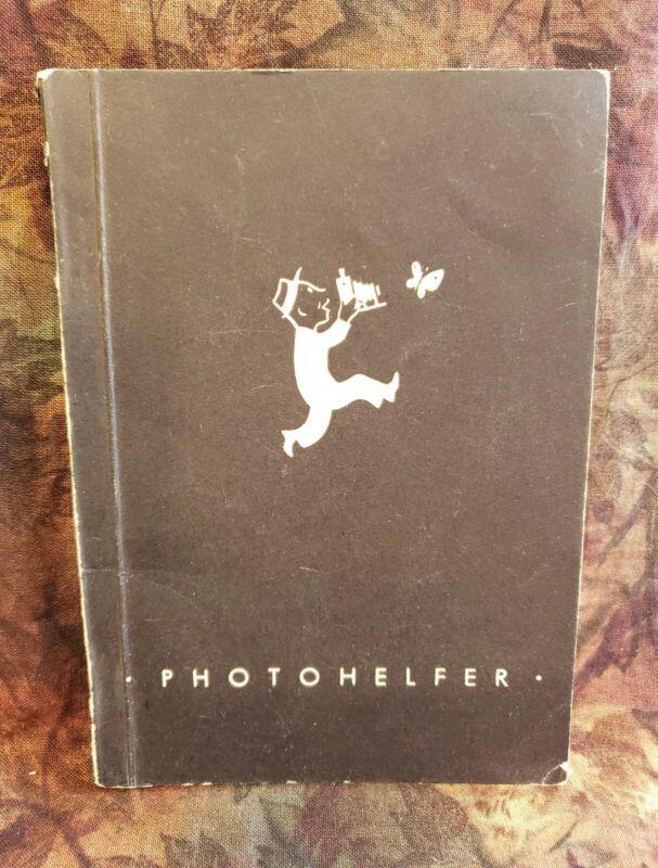 Vintage 1950 PORST German Camera Photography Catalog - Leica Leitz Kodak Zeiss +