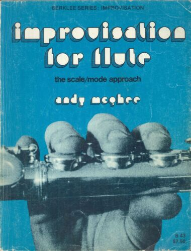 Improvisation For Flute Scale / Mode Approach 1975 McGhee Exercises Jazz Tunes