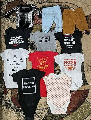 Baby Boy Clothes 0-3 Month Lot Baby Gap Nike Carter