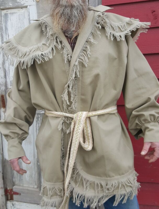 Woodsman Frock Coat/ jacket for fur trade re-enactments Size: 2XL