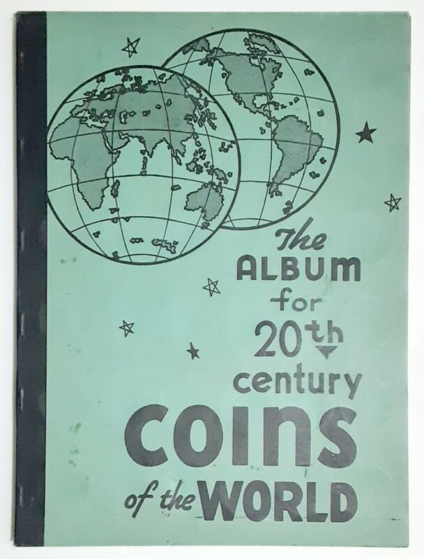 Vintage The Album for 20th Century Coins of the World (127 Coins)