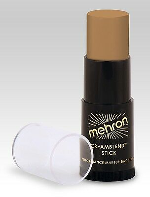 Mehron CreamBlend Stick Makeup MEDIUM DARK OLIVE - Stage & beauty makeup .75 oz ()