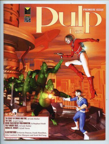 Pulp Fan #1 fanzine Harold B. Hersey, Pulp Fandom, Fred Humiston 2017 VF