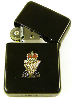 ROYAL ULSTER RIFLES CLASSIC WINDPROOF COMBAT BLACK LIGHTER for sale  Shipping to Ireland