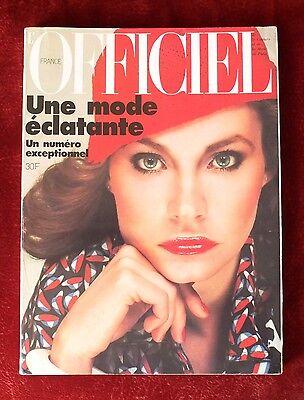 L'Officiel Paris Magazine ~ #630 March 1977 ~ Haussaire Michel Picard
