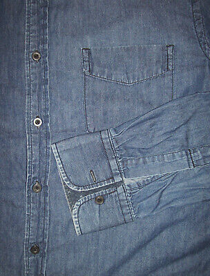 Chemise en jean ??? red (usa/canada), taille l --- (cj_217)