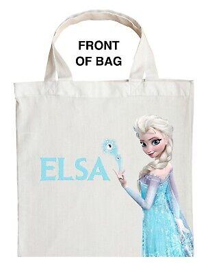 Elsa Trick or Treat Bag, Personalized Elsa Halloween Bag, Elsa Loot Bag