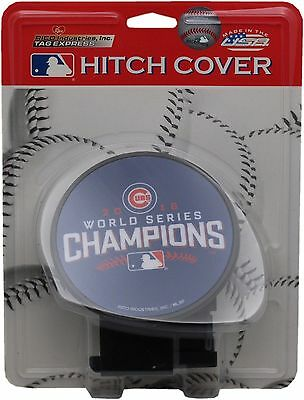 Chicago Cubs 2016 World Series Champions Hitch Cover Plastic