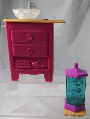 Mattel Barbie Dream House 2015 Lights Sounds Electronic Sink Fish Tank Parts