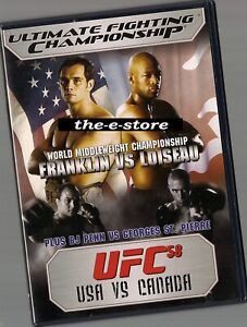 UFC - Ultimate Fighting Championship - DVD - 58 USA vs Canada.