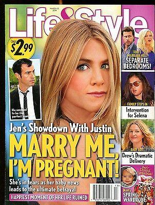 Life & Style Magazine March 31 2014 Jennifer Anniston EX No ML (Jennifer Anniston Style)