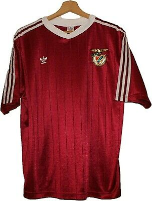 MATCH WORN? 1970's #20 BENFICA SL Football Tricot Shirt Jersey ADIDAS L Portugal image