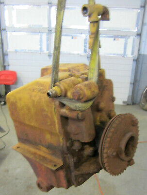 Old Farmall Ihc H Or M Tractor Live Hydraulic Belly Pump Tank Parts Or Repair