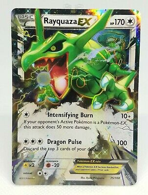 Pokemon Roaring Skies - Rayquaza EX 75/108 - HP