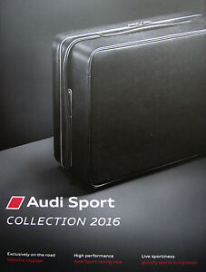 Audi Audi Sport Collection 05 / 2016 catalogue brochure English int&#039;l 122 p. - <span itemprop='availableAtOrFrom'> Varsovie, Polska</span> - Audi Audi Sport Collection 05 / 2016 catalogue brochure English int&#039;l 122 p. -  Varsovie, Polska