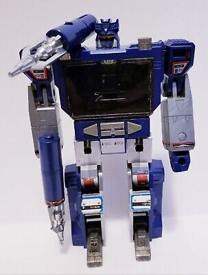 Vintage 1983 Hasbro Transformers G1 SOUNDWAVE Decepticon Cassette Player RARE!