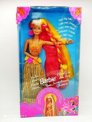 Vintage Hula Hair barbie 1993 Mattel - new in box
