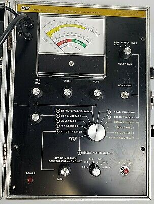 Vintage Bk Cathode Ray Tube Tester Model 466 Works Tested. Same Day Shipping