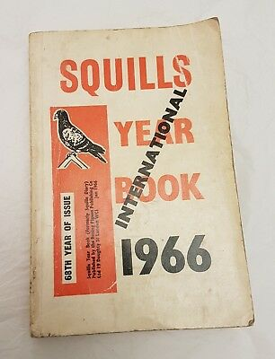 Squills International Racing Pigeon Year Book 1966