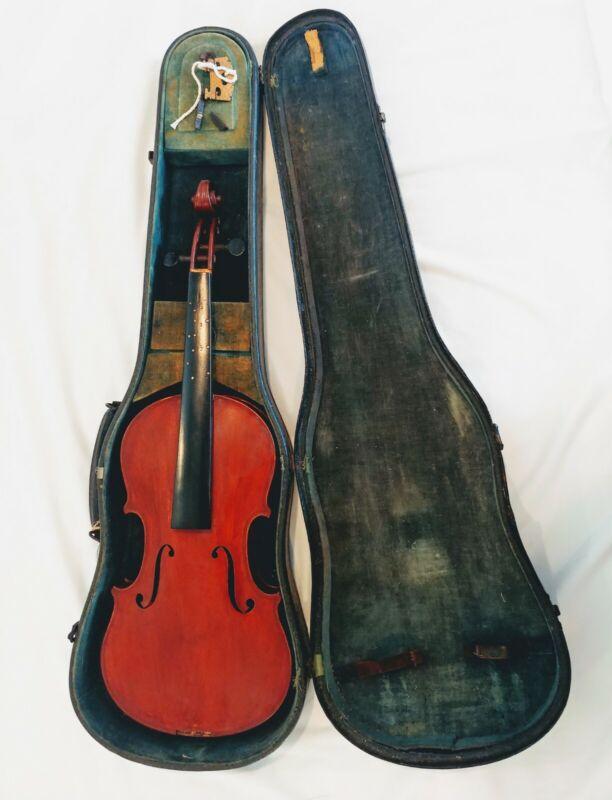 Antique Vintage Copy of Antonius Stradivarius Violin Made in Germany PROJECT
