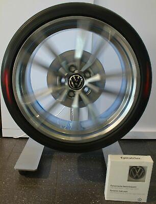 Original VW Zubehör Dynamische Radnabendeckel Satz Radnabenkappe für Alufelgen