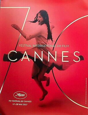 "CANNES FILM FESTIVAL 2017 ORIGINAL OFFICIAL POSTER 32"" X 24"" MINT FAST SHIP"