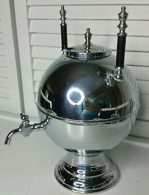 Vintage Mid-Century/Art Deco Chrome Orb Drink/Shot Dispenser ~ Beautiful Retro