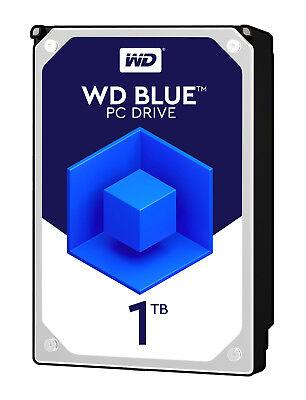 """WD Blue Desktop 1TB SATA III 3.5"""" Hard Drive - 7200RPM, 64MB Cache"""