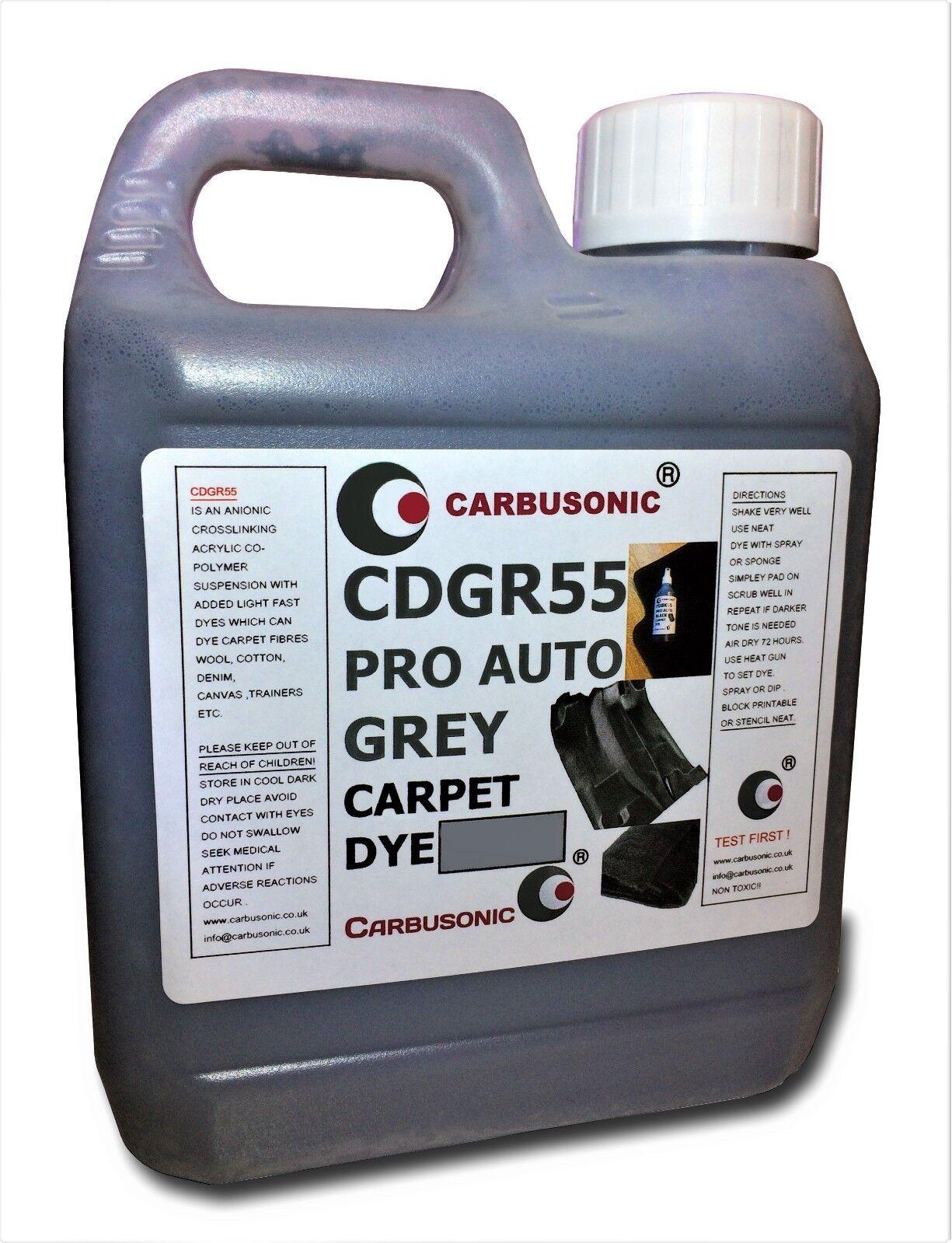 Carpet dye -  Grey Interior Renovation, Car Trim Faded Carpet Dye 1 Litre